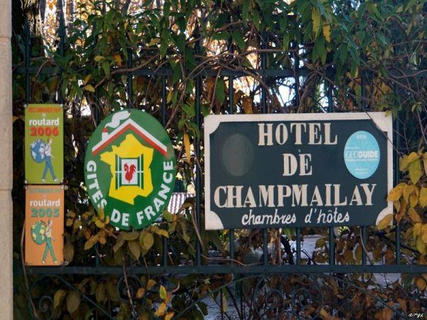 Maison d'Hôte de Champmailay